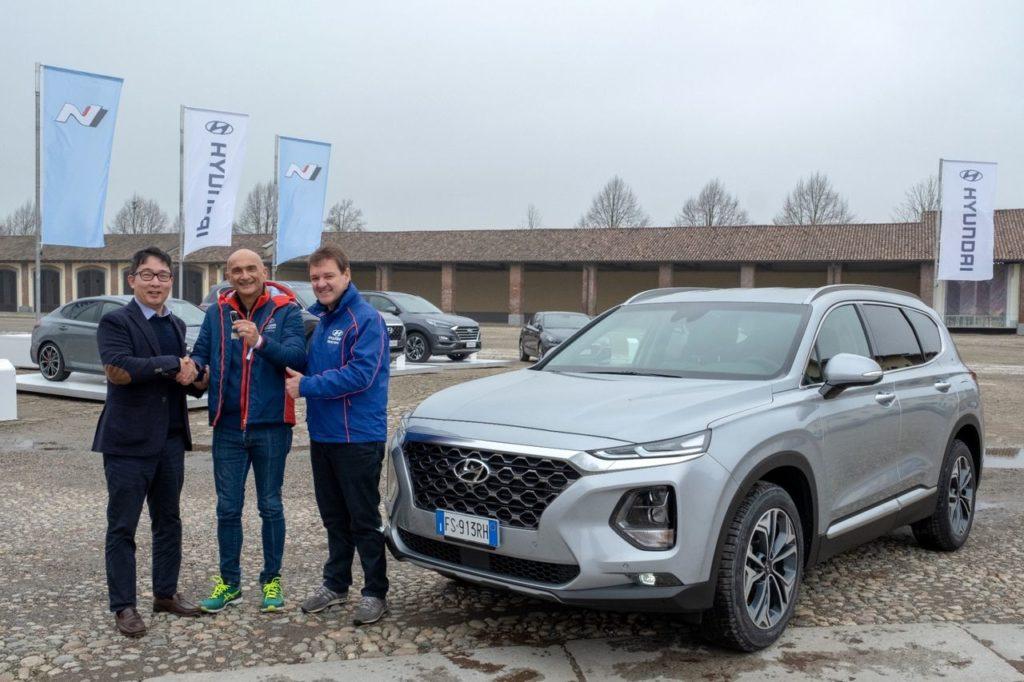 Hyundai Italia nomina Gabriele Tarquini Brand Ambassador