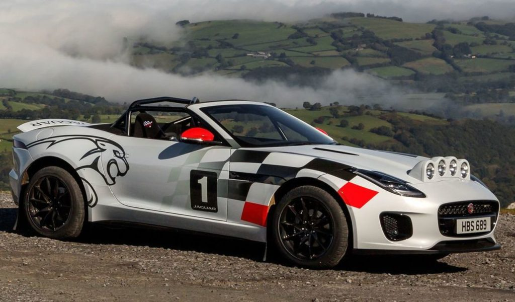 Jaguar F-Type versione rally: anche una spider cabrio può misurarsi con l'off road [VIDEO]