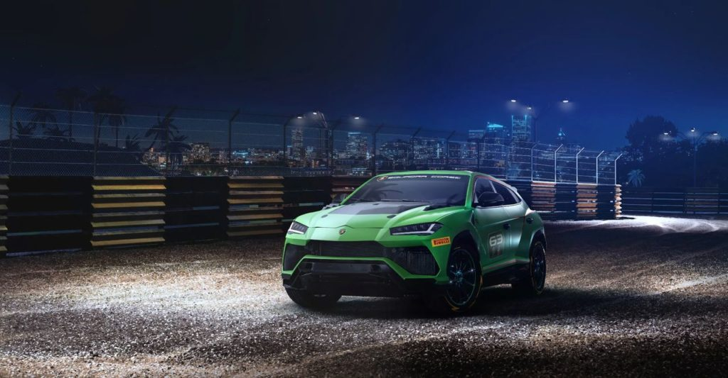 Lamborghini Urus ST-X: la versione da corsa del Suv che avrà un campionato tutto suo