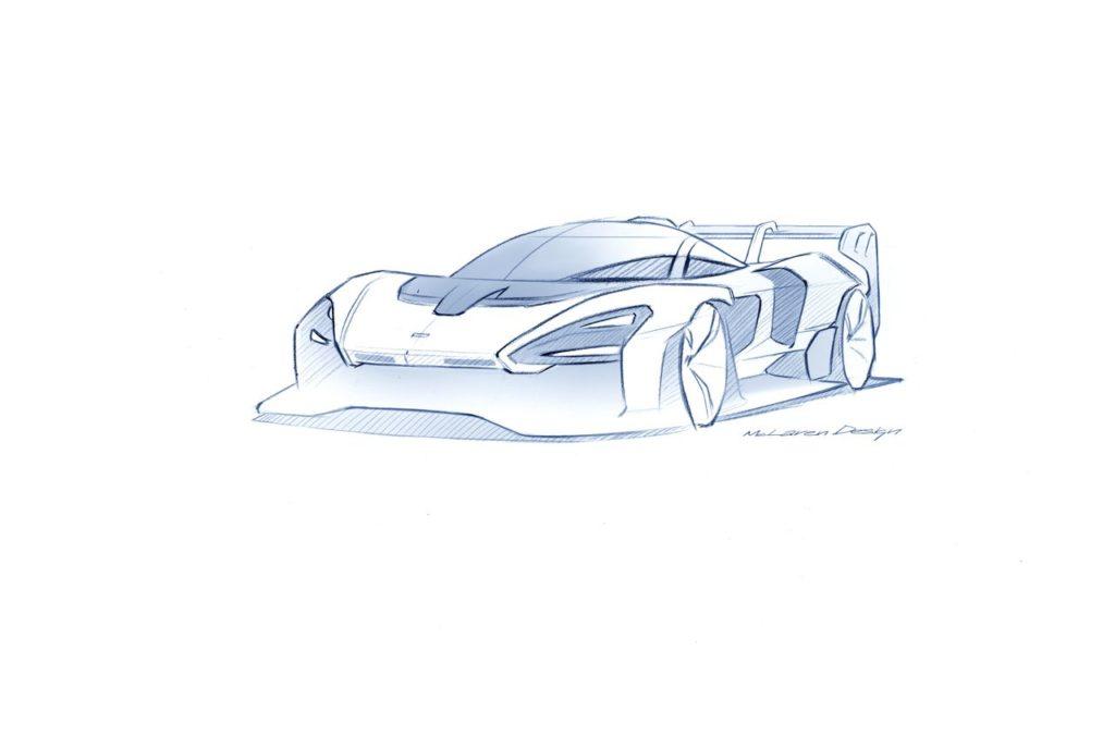 McLaren Senna GTR, svelati nuovi dettagli del modello da corsa della hypercar (in edizione limitata)