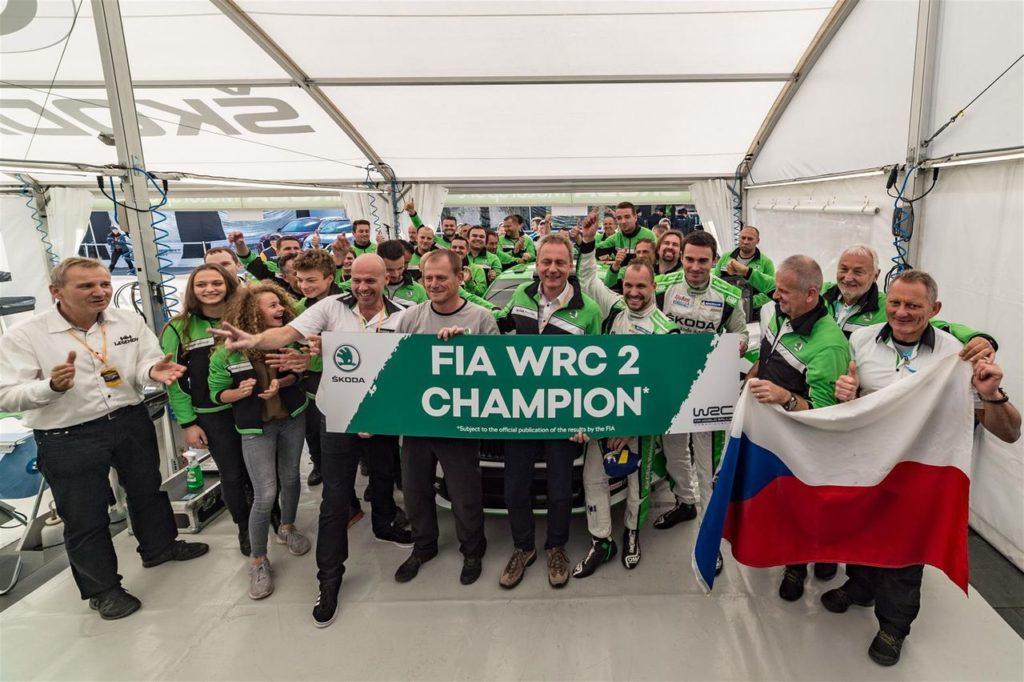 La stagione trionfale di Skoda Motorsport: il dominio nel WRC2 e gli altri successi