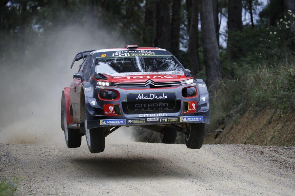 WRC | Rally Australia 2018, prima tappa: sorpresa Citroen. Ogier si avvantaggia per il titolo