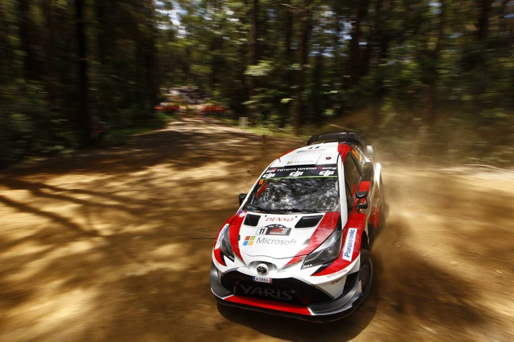 WRC | Toyota al Rally d'Australia per il titolo costruttori: più difficile l'impresa per Tanak [VIDEO]