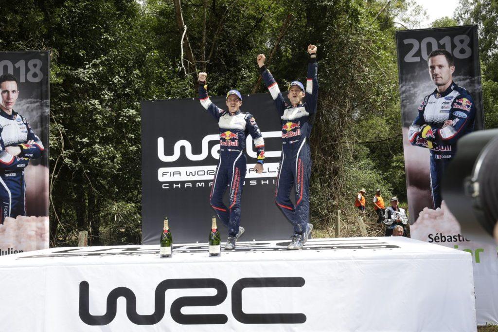 WRC | Sebastien Ogier campione del mondo per la sesta volta. Latvala vince il Rally Australia 2018 [VIDEO]