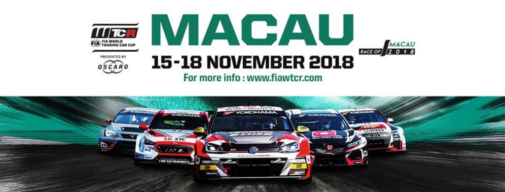 WTCR | Race of Macao 2018: anteprima ed orari [VIDEO]