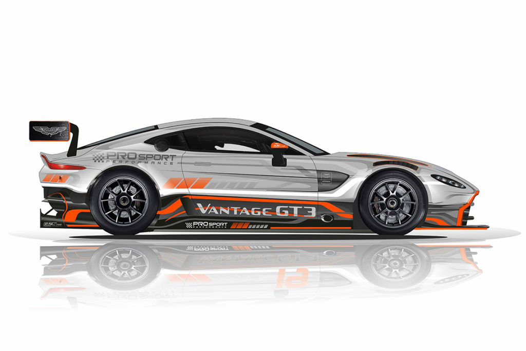 ADAC GT Masters | Nuova partnership tra Aston Martin e PROsport Performance