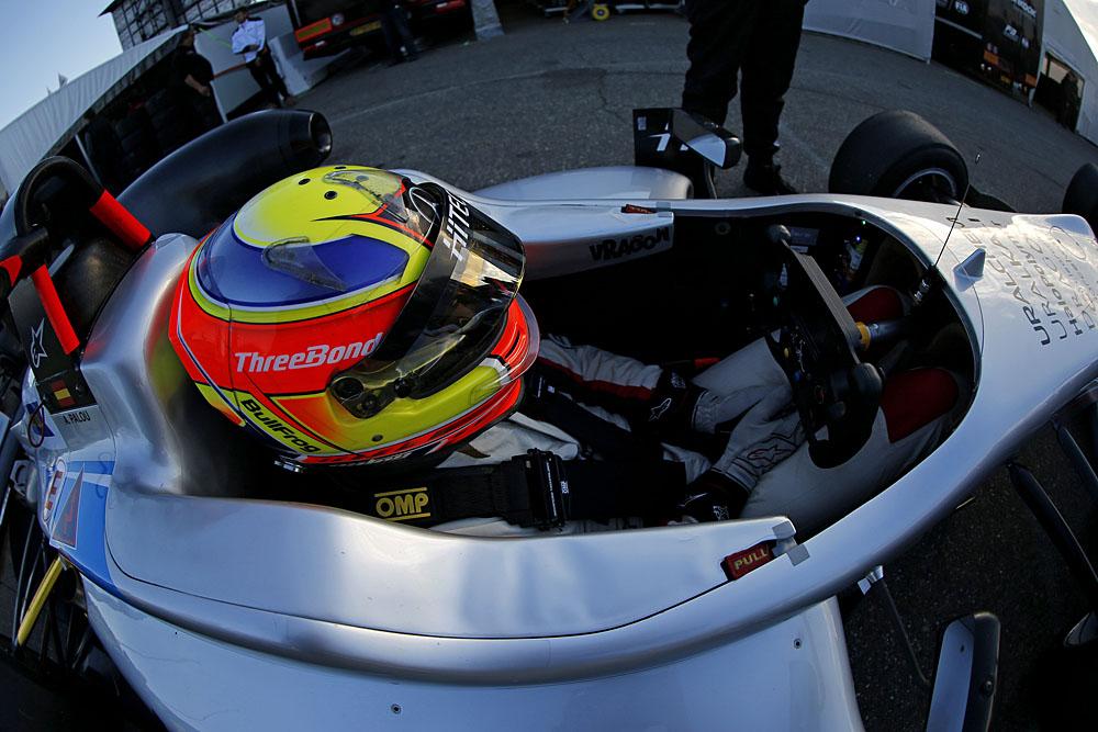 FIA F3   Palou a Macao con Sekiguchi e il team B-Max