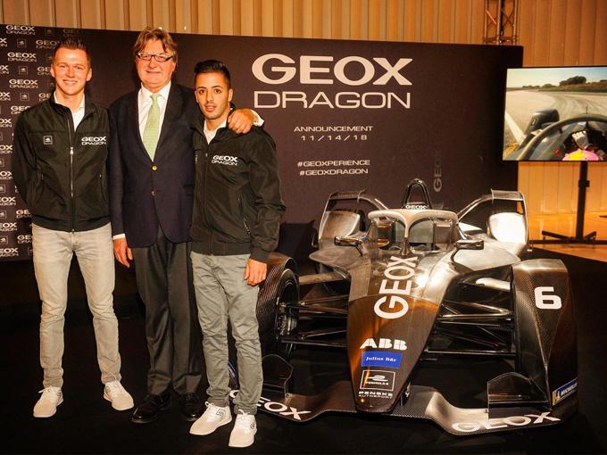 Formula E | GEOX diventa sponsor principale del team Dragon