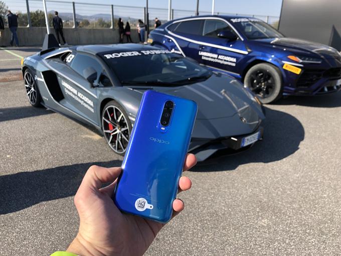 Gli smartphone OPPO protagonisti alle Finali Mondiali del Lamborghini Super Trofeo