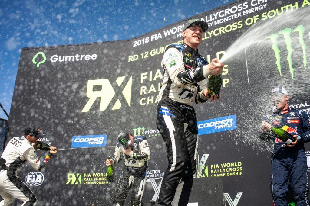 Rallycross | Kristoffersson chiude il 2018 con un altro dominio in Sudafrica