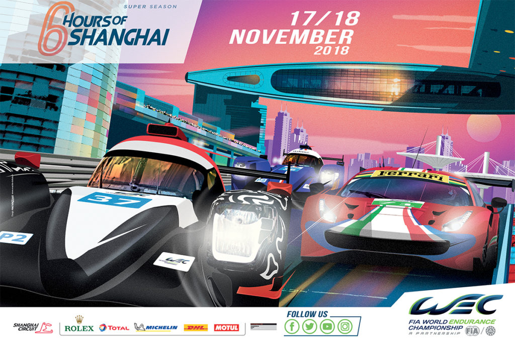 FIA WEC | 6 Ore di Shanghai: Anteprima e Orari del Weekend