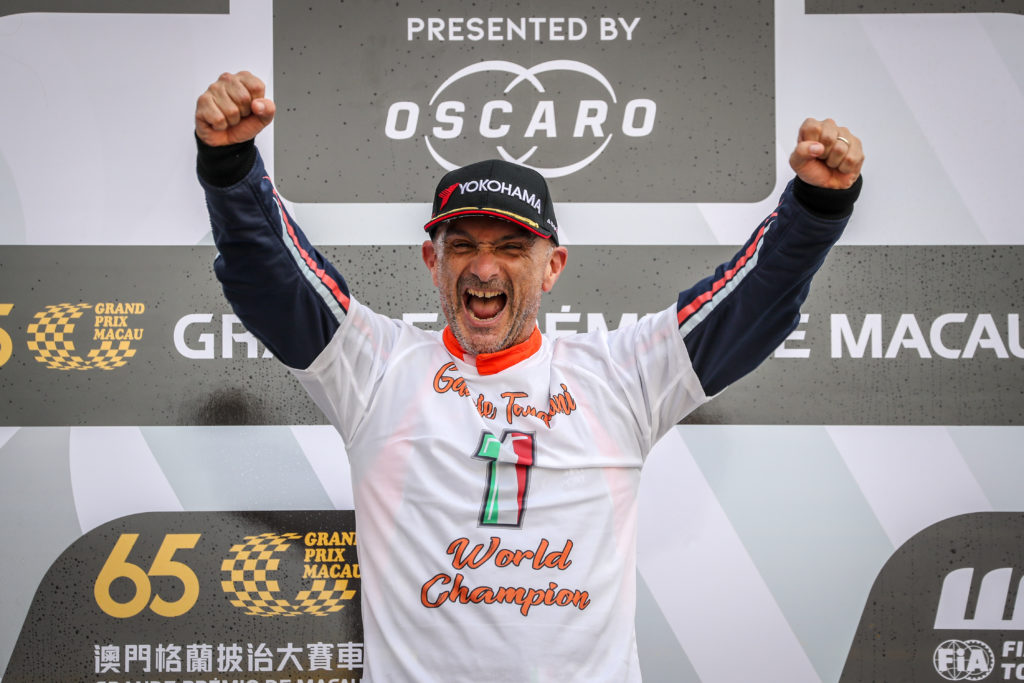 FIA WTCR | BRC Racing Team festeggia il titolo di Tarquini a Macao
