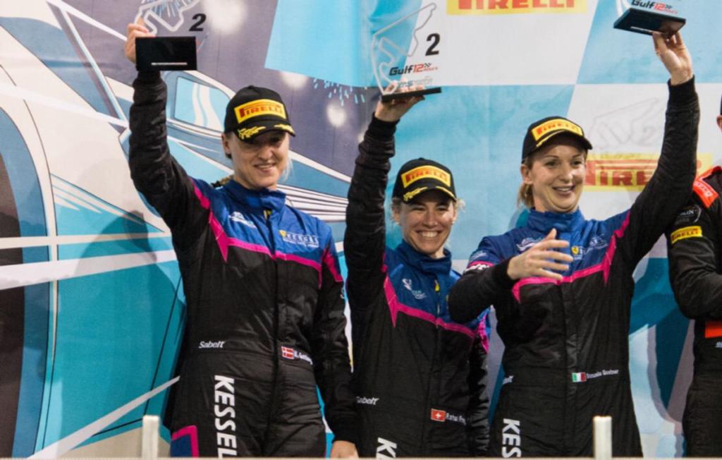Kessel Racing conquista il podio di classe alla 12 Ore del Golfo con un team di sole donne