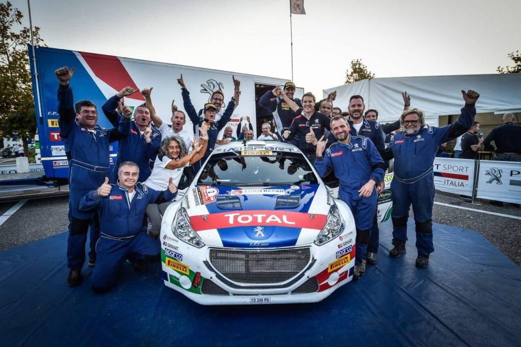 Monza Rally Show 2018 | Peugeot con Andreucci per celebrare gli 11 trionfi nel CIR
