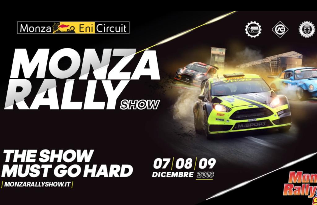 Monza Rally Show 2018 | Si parte il 7 Dicembre: info, prezzi e orari [VIDEO]