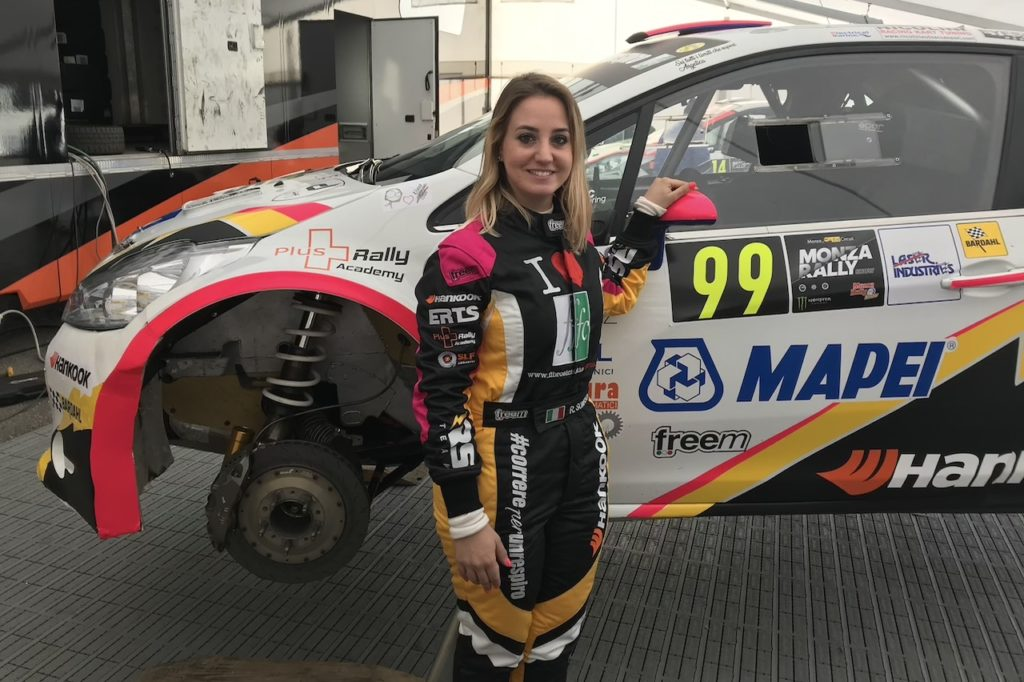 "Rachele Somaschini: ""Amo il rally e corro portando un messaggio di speranza"" [INTERVISTA]"