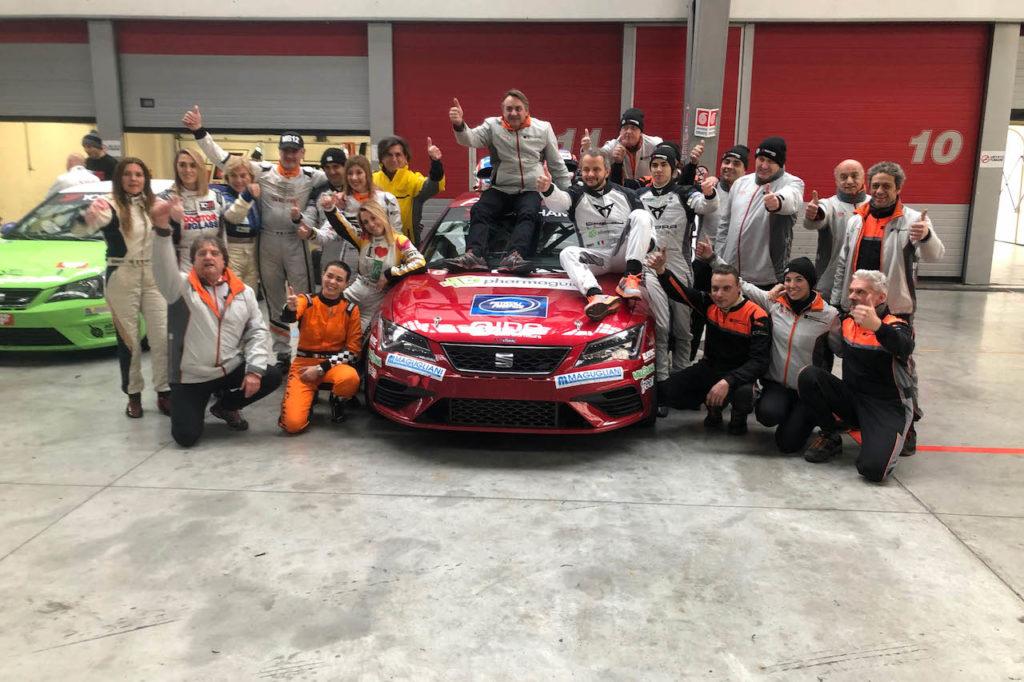 SEAT Motorsport Italia si aggiudica la 24 Ore di Adria 2018