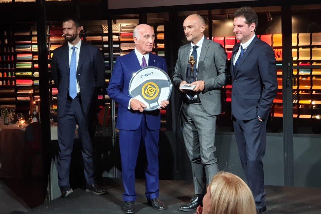 A Gabriele Tarquini il Casco Oro Iridato ed il Volante ACI Oro 2018