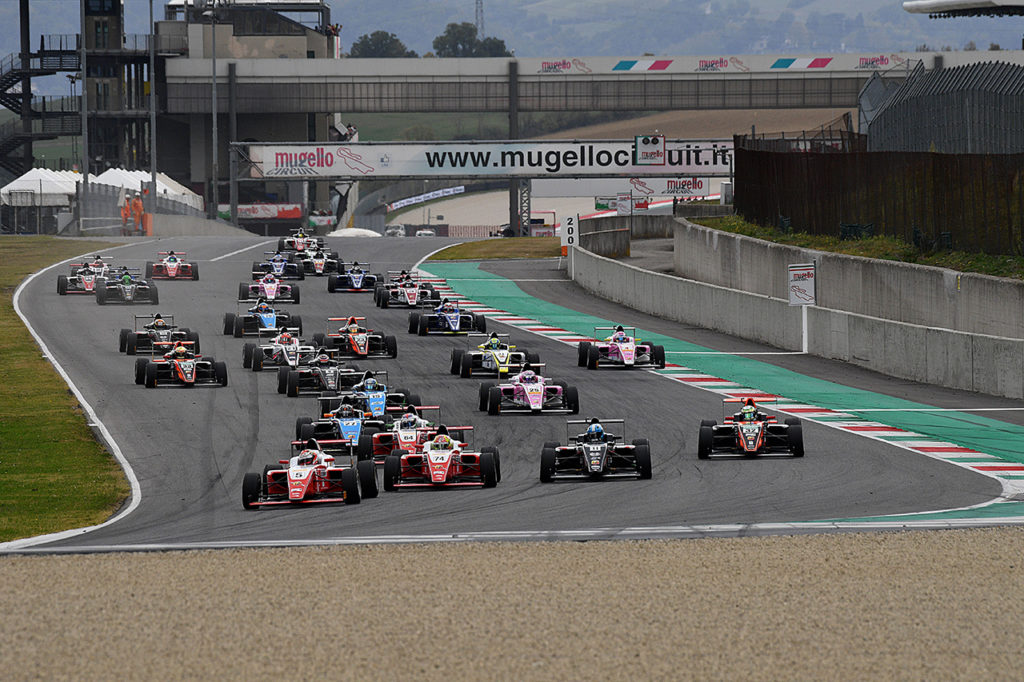 F4 Italia | Nuovo calendario condiviso con la Formula Regional nel 2019