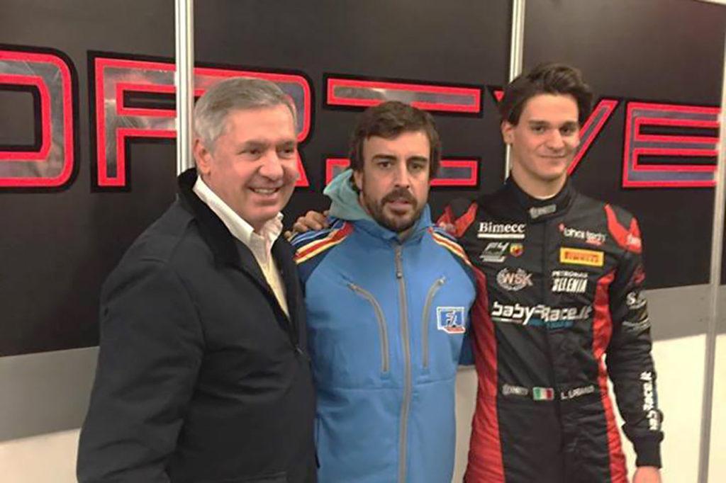 Formula Renault Eurocup | Lorandi in pista con Alonso e FA Drivex a Barcellona