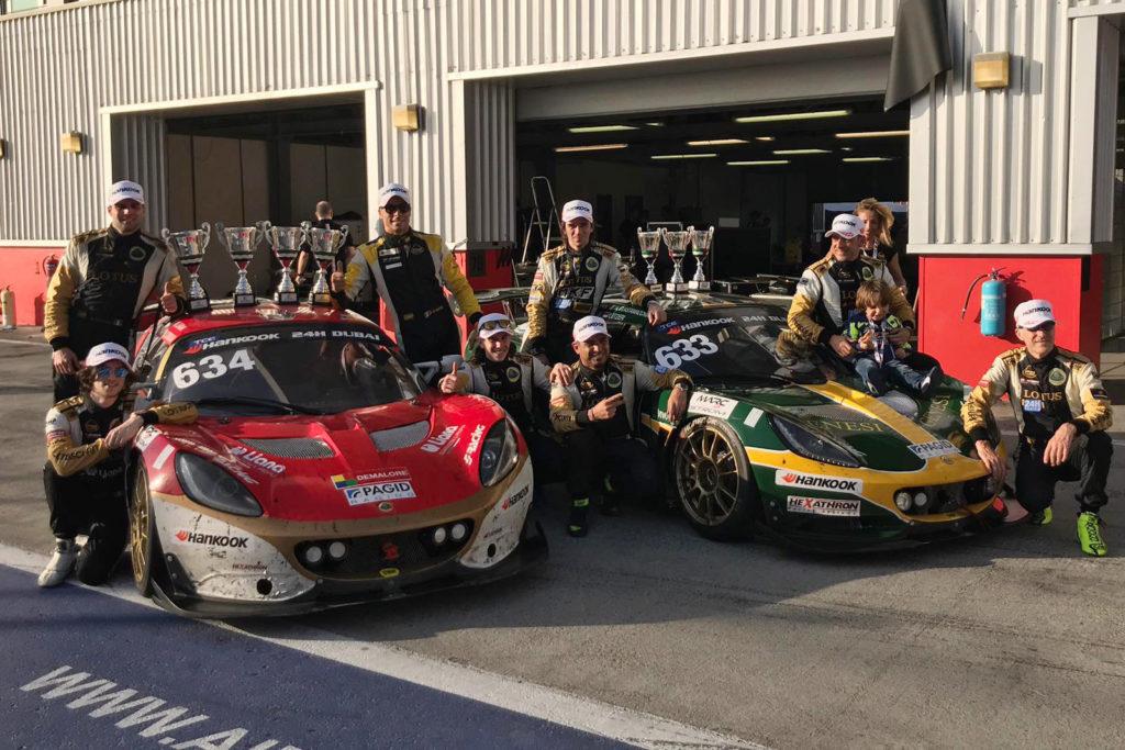 24H Series | PB Racing conquista il podio di classe alla 24 Ore di Dubai