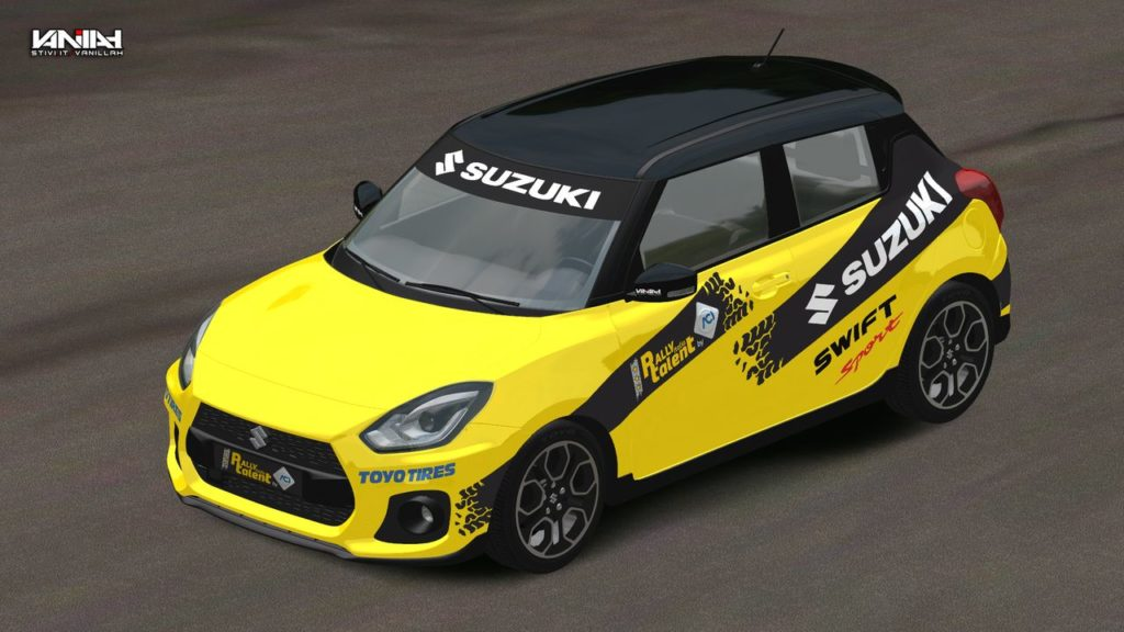 ACI Rally Italia Talent 2019: Suzuki Swift Sport auto ufficiale