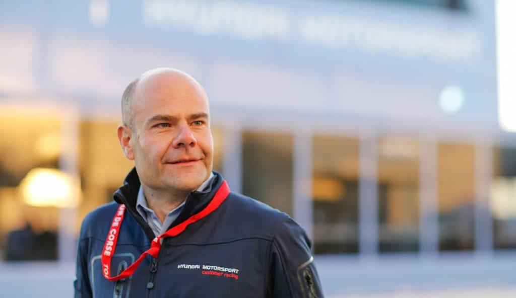Andrea Adamo nuovo Team Director Hyundai Motorsport al posto di Nandan