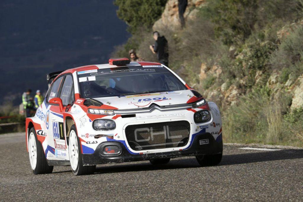 CIR | Citroen sbarca nel Campionato Italiano Rally 2019 con la C3 R5