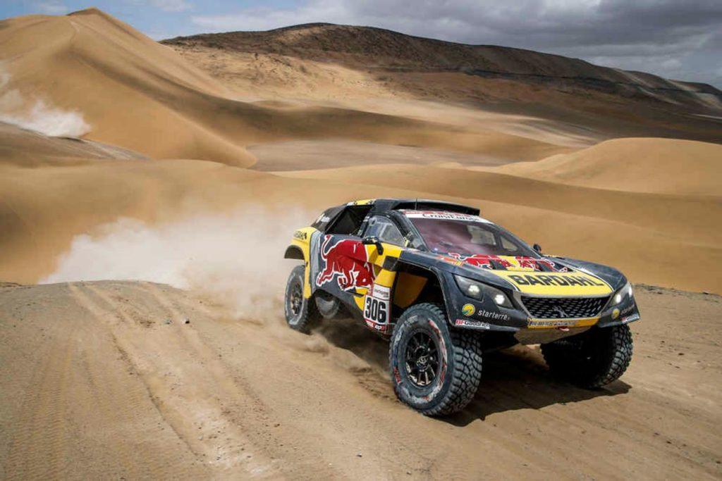 Dakar | Loeb chiude la settimana con un'altra vittoria. Al Attiyah sempre più leader