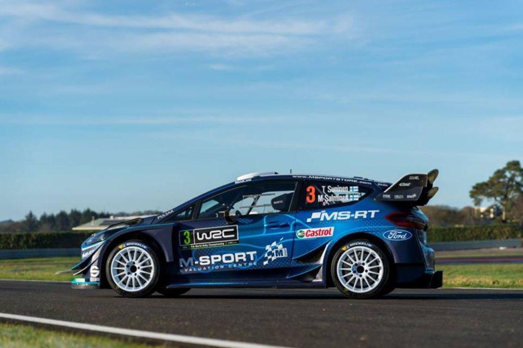 WRC | Un nuovo inizio per M-Sport Ford: ecco la livrea della Fiesta WRC