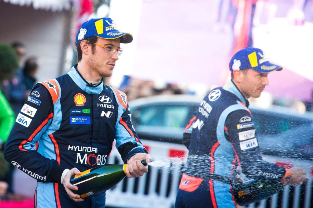 WRC | Hyundai comincia il 2019 con una lotta sul filo dei secondi al Rally Monte Carlo