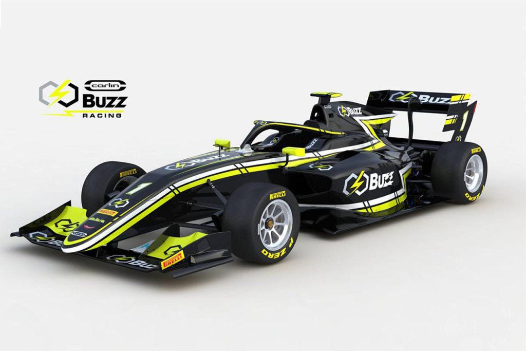FIA F3 | Buzz diventa partner di Carlin, Natori primo pilota del team