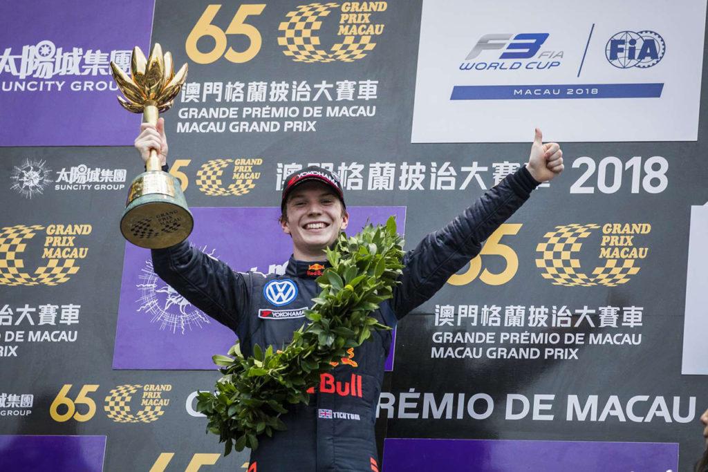 FIA F3 | Ticktum risponde presente all'Asian F3 Winter Series