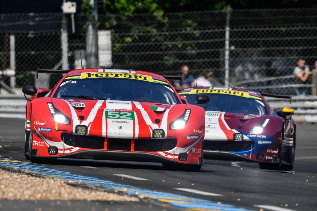 FIA WEC | Ferrari e AF Corse senza la terza auto alla 24 Ore di Le Mans