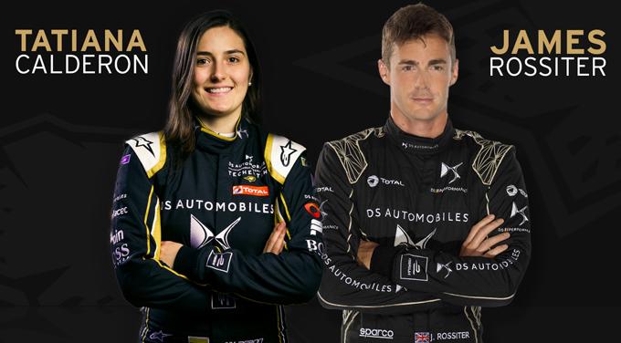 Formula E | James Rossiter e Tatiana Calderon proveranno per DS Techeetah nei Rookie Test di Marrakech
