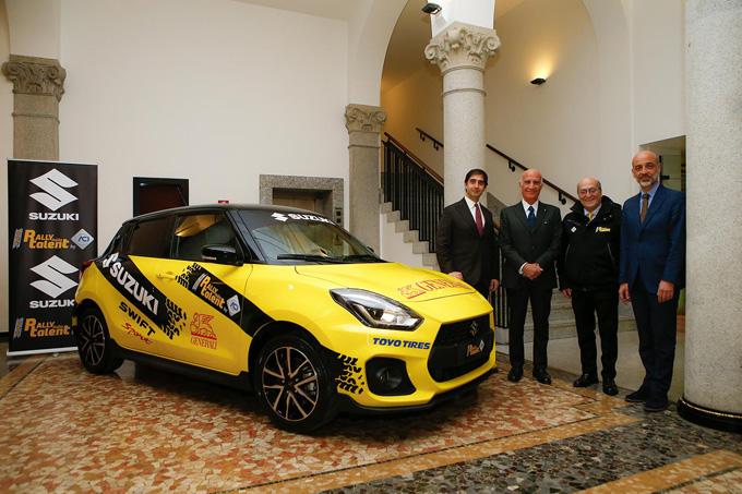 Rally Italia Talent e Suzuki presentano la sesta edizione nella sede di ACI Milano