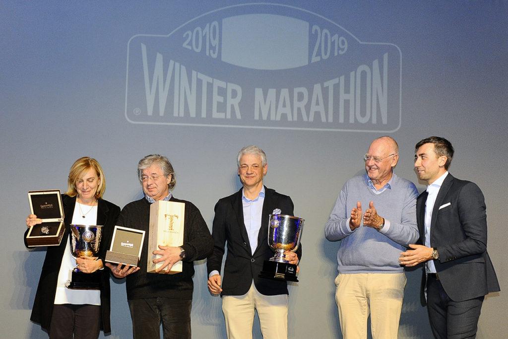 Eberhard & Co. - Winter Marathon 2019, premiazioni