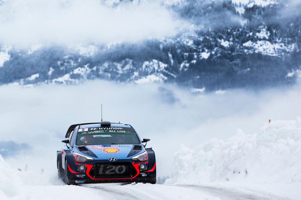WRC | Hyundai pronta ad accendere i giochi al Rally di Monte Carlo