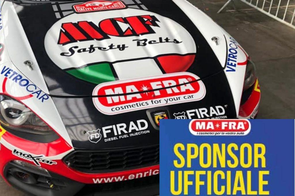 MAFRA presente al Franciacorta Rally Show (anche) con Bernini