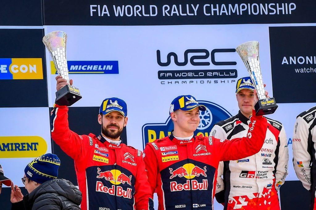 WRC | Citroen festeggia il podio di Lappi al Rally di Svezia 2019. Ogier pensa già al Messico [VIDEO]