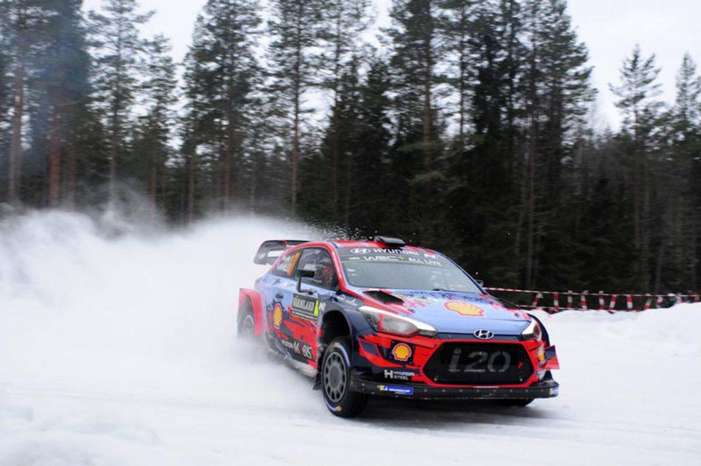 WRC | Un altro podio per Hyundai: Neuville terzo al Rally di Svezia 2019. Ma sfuma la vetta della classifica