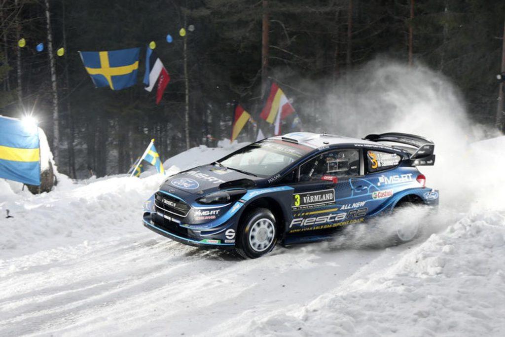 WRC | Rally di Svezia 2019, prima giornata al cardiopalma: Suninen leader, Ogier si ritira