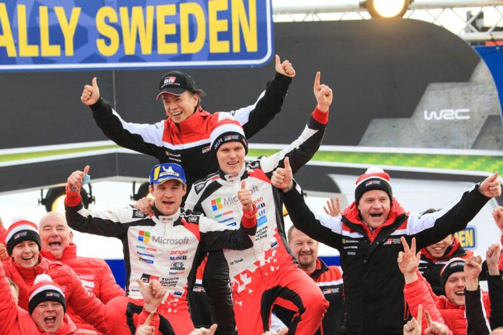 WRC | Trionfo Toyota al Rally di Svezia: Tanak sempre più favorito per il Mondiale 2019