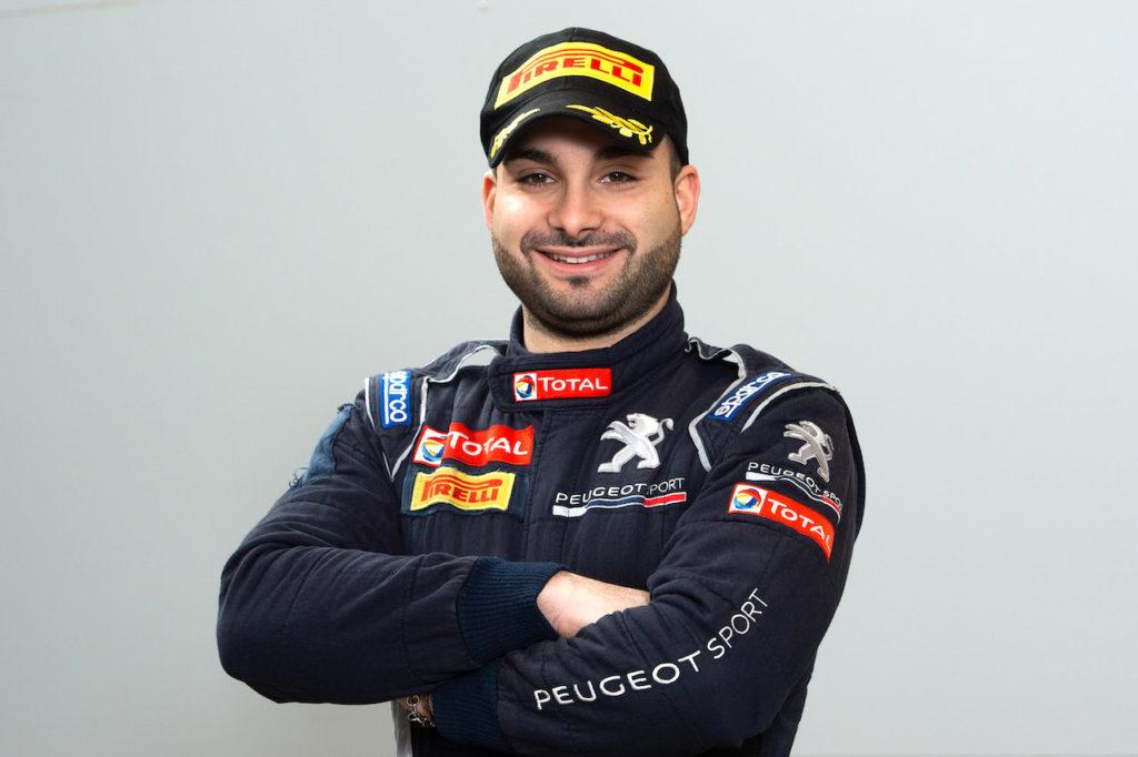 """CIR   Peugeot, Tommaso Ciuffi: """"Una grande emozione, punto subito a vincere"""" [INTERVISTA]"""