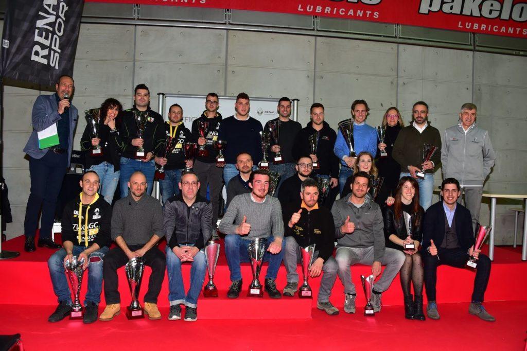 Trofei Renault Rally: celebrati a Torino i protagonisti della stagione 2018