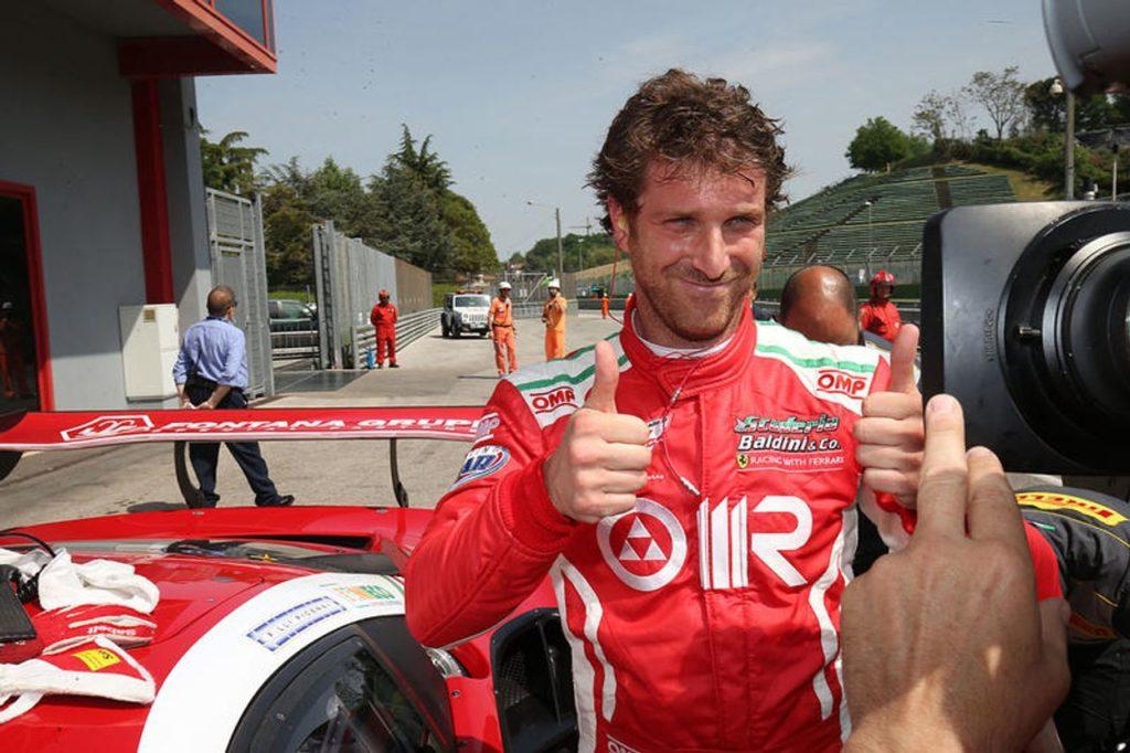 CIGT | Test in pista per Villeneuve, Fisichella e Gai sulla Ferrari 488 GT3 [VIDEO]