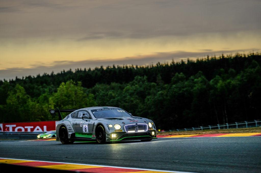 Blancpain | Bentley all'assalto della 24 Ore di Spa-Francorchamps con quattro vetture
