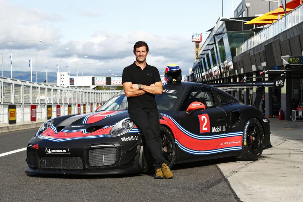 Blancpain | Porsche 911 GT2 RS Clubsport portata in pista da Webber a Bathurst