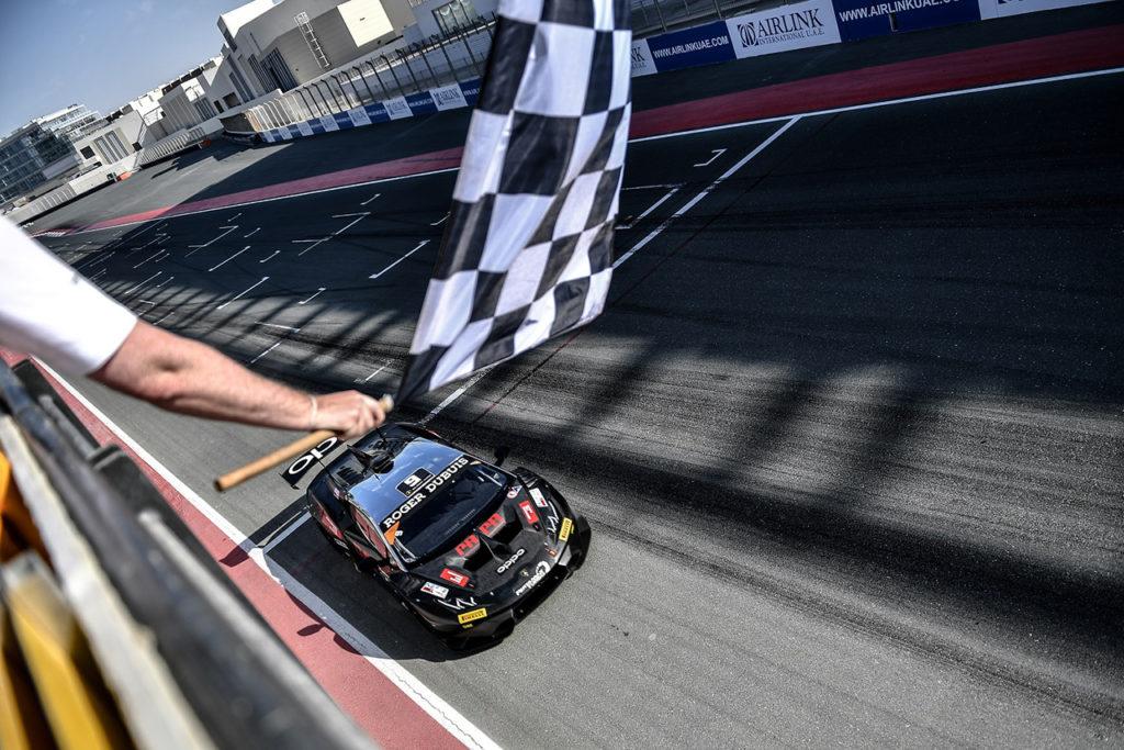 Lamborghini Super Trofeo Middle East   Dubai, Gara: tripletta Target con Boguslavskiy e Schandorff