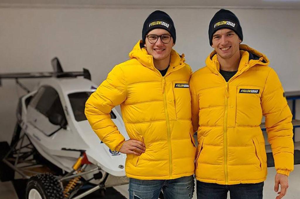 Timmy e Kevin Hansen lanciano Yellow Squad, un team junior per i giovani del rallycross